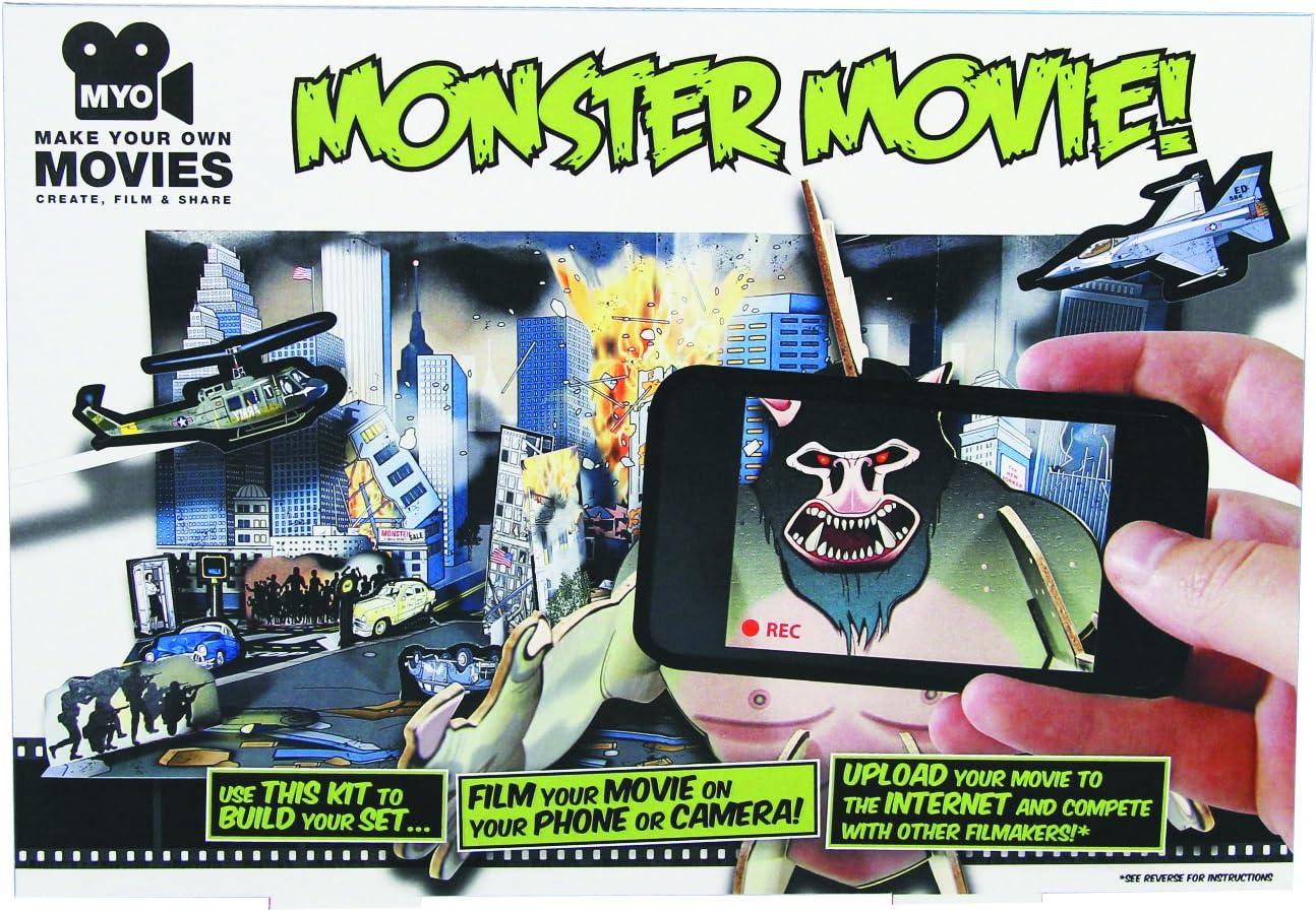Haga su propio kit Movie Monster: Amazon.es: Juguetes y juegos