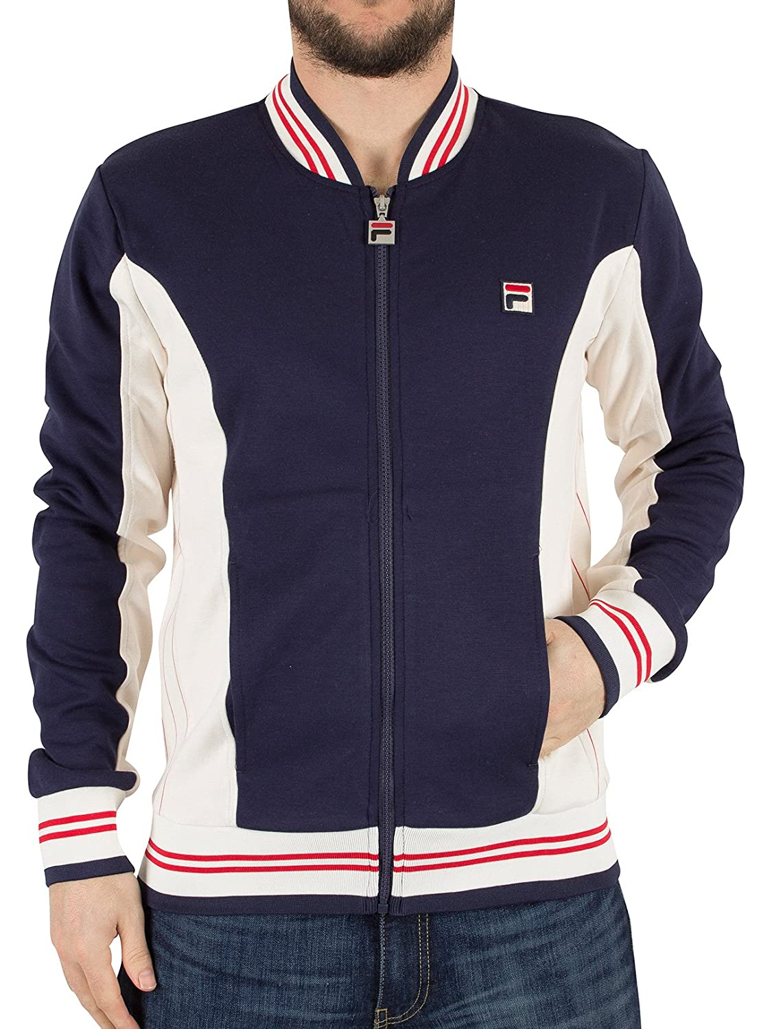 Fila Vintage Settanta Baseball Jacket | Peacoat (Medium)