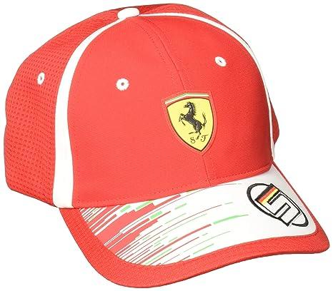 Image Unavailable. Image not available for. Color  Ferrari Scuderia  Sebastian Vettel Cap 2018 37fdaef93c7c