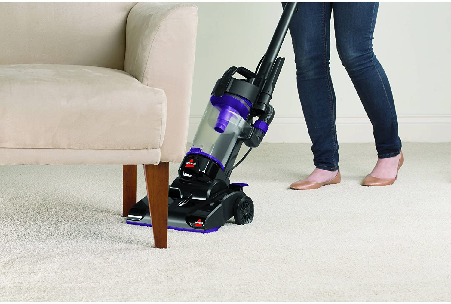 2112 Multi-Surface Cleaner BISSELL PowerForce Compact Bagless Upright Vacuum