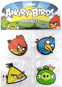 Angry Birds Magnet Set, 4 Pack