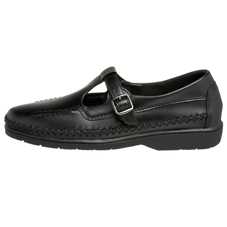 Propet Women's W3205 Cafe Walker Walking Shoe B001H53W98 8.5 EE|Black