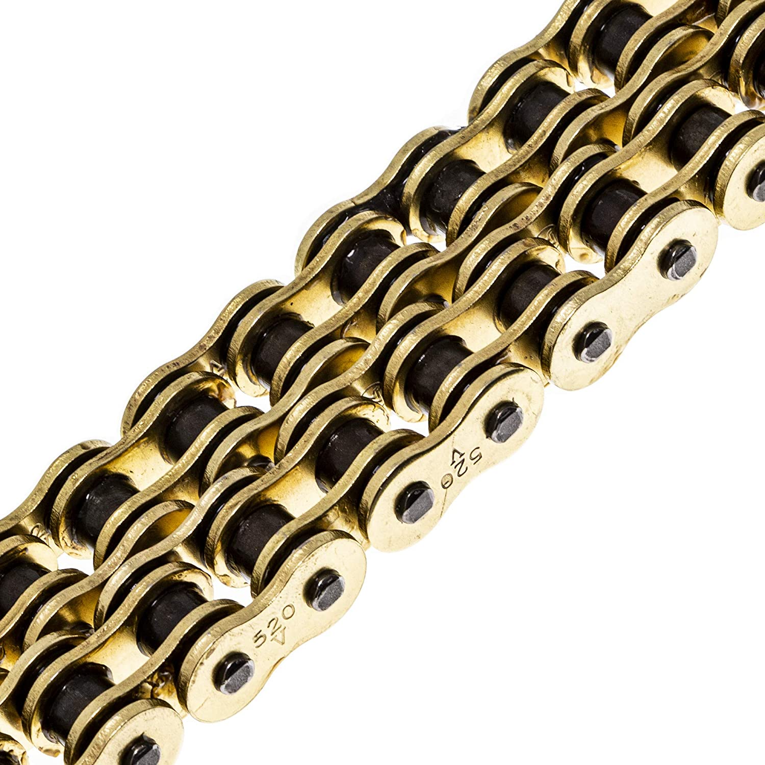 NICHE Gold 520 X-Ring Chain 122 Links With Connecting Master Link