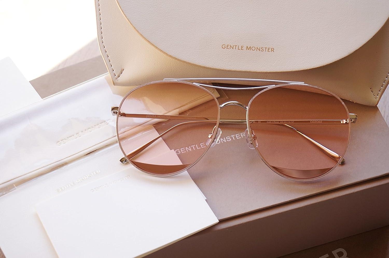 c51e3a5078ec Amazon.com  Gentle Monster Sunglasses Odd Odd Silver Frame Pink Lenses With  Origianl Package Sets  Everything Else