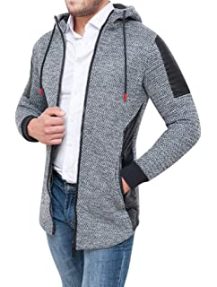 11f87d82929e Evoga - Manteau - Cape - Homme  Amazon.fr  Vêtements et accessoires