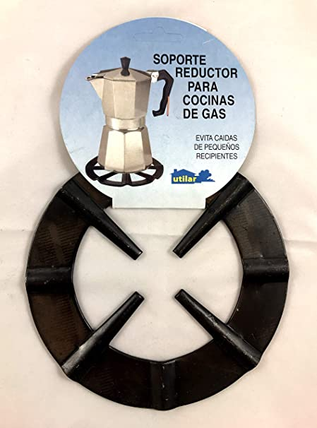 Menajes Utilar Rejilla Soporte Reductor Cafetera de 16,5cm: Amazon.es: Hogar