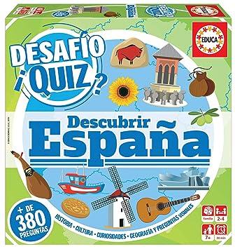 Quiz Descubrir Borrás Variado18217 Educa Desafio EspañaColor qpzMSUV
