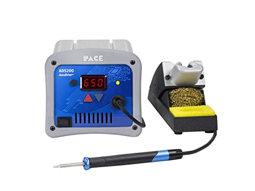 PACE ADS200 AccuDrive High Powered Soldering Station with TD-200 Tip-Heater Cartridge Iron Tips NOT Included
