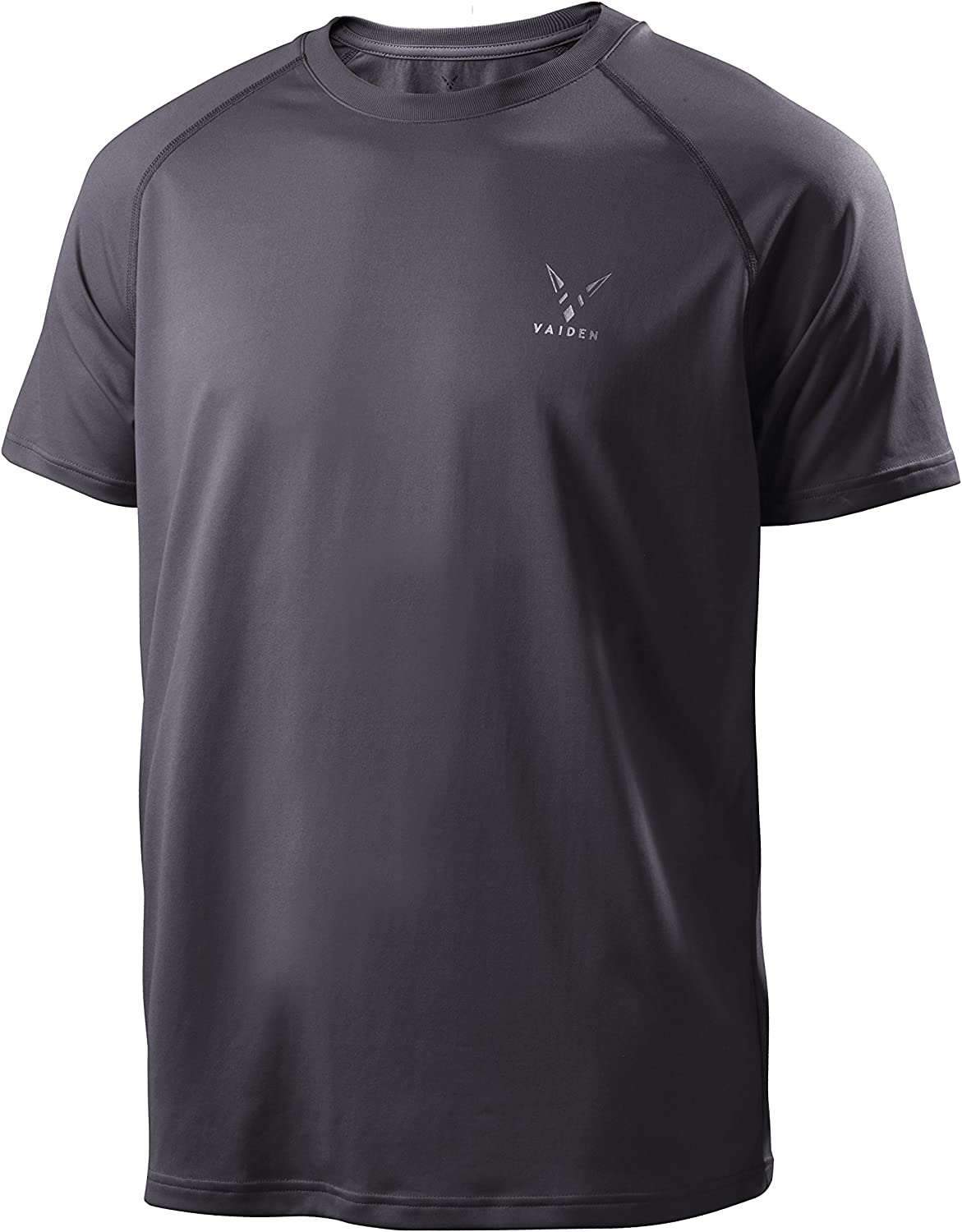 Vaiden BoltX Men's Tall Sports T-Shirt - Anti-Odor, Moisture Wicking, Breathable, Quick Dry