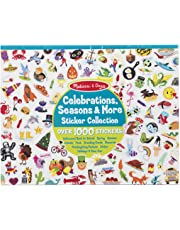 Melissa & Doug 4215 Sticker Collection Book: 1,000 Plus Stickers – Seasons and Celebrations, Multicolor
