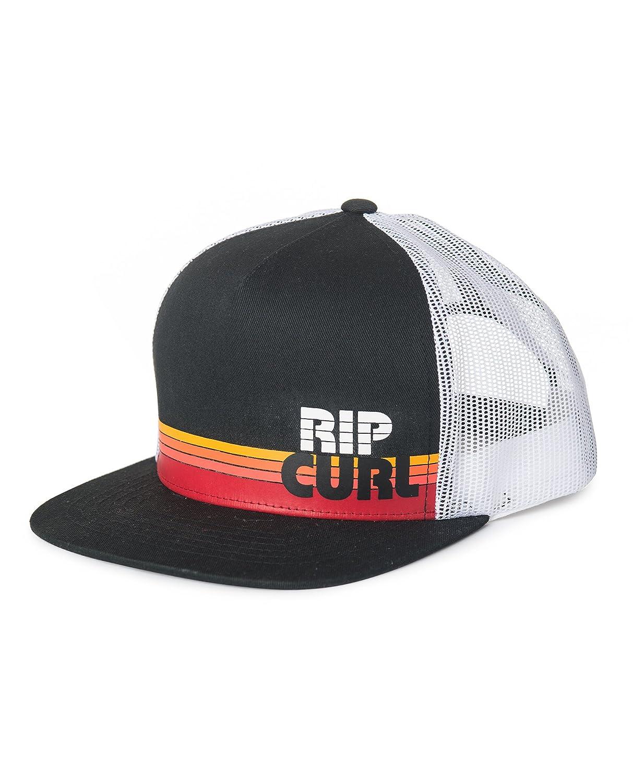 RIP CURL Macao Trucker Gorra, Hombre, Negro, Talla Única: Amazon ...
