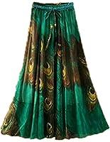 Skirt Women's Riyon Fabric Digital Printed Stitched Skirt (Multi-Colour)