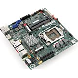 Intel DQ77KB Thin Mini-ITX MB, LGA 1155, Core i3/i5/i7, Dual LAN, 19V, BLKDQ77KB 1-Pack