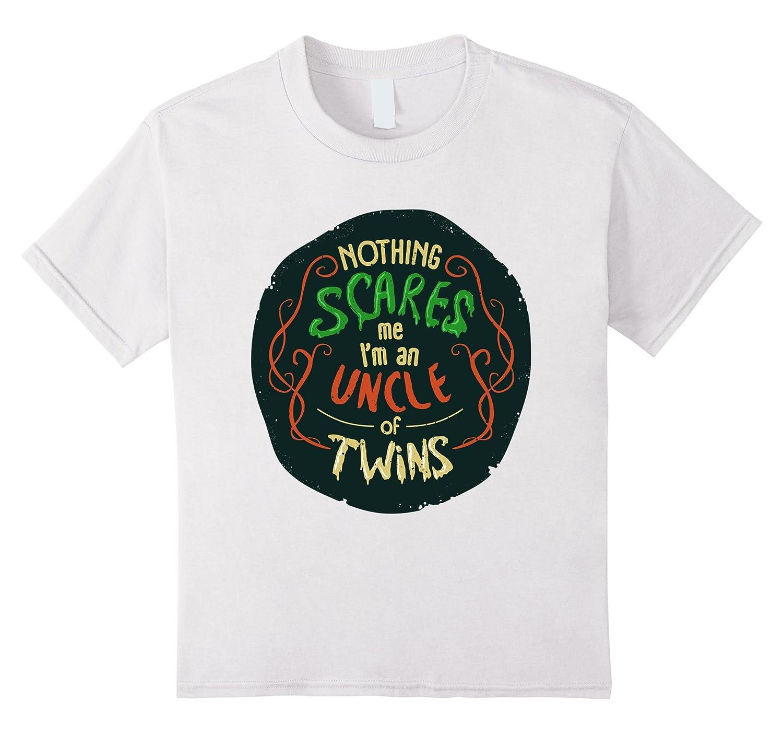 Nothing Scares Uncle TShirt Orange-Tovacu