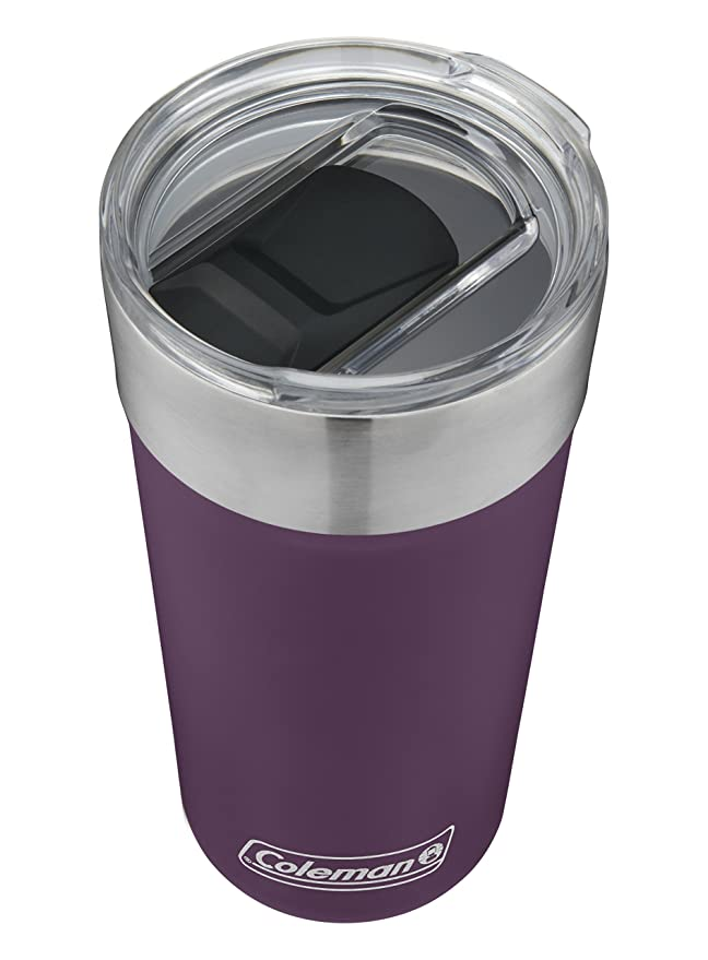 Amazon.com: Coleman Brew Insulated Stainless Steel Tumbler ...