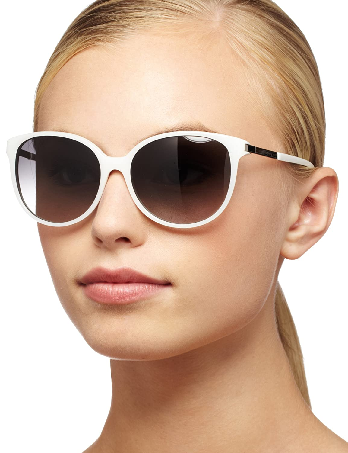 6d5ec95e9a92 KATE SPADE SHAWNA/S Sunglasses 01Y4 White 56-15-135: Amazon.co.uk: Clothing