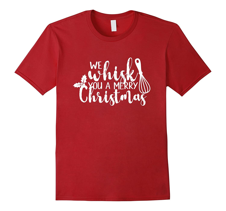 224a5130b Funny Merry Christmas Baking Cooking Whisk Shirt Men Women-ANZ ...