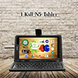 IKall N5 Tablet  7 inch, 16 GB, 4G + LTE + Voice Calling , Black with Keyboard
