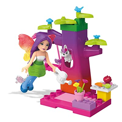 Mega Construx Barbie Fairy Treehouse Building Kit: Toys & Games