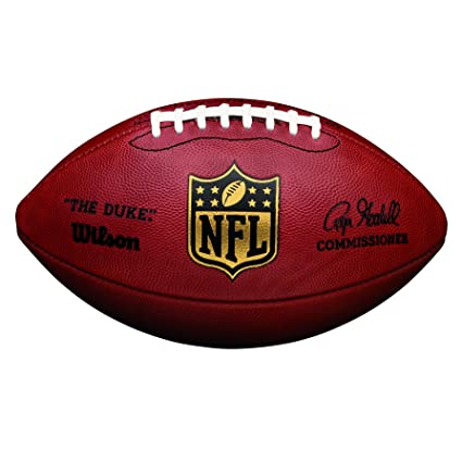 Amazon Com Wilson The Duke Official Nfl Game Football Sports