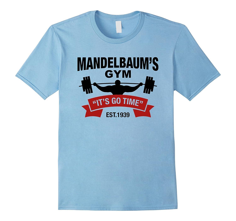 Mandelbaums Gym Its Go Time Est1939 Gym Black T Shirt Cd