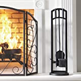 Pleasant Hearth FA219TA Arched 4 Piece Fireplace