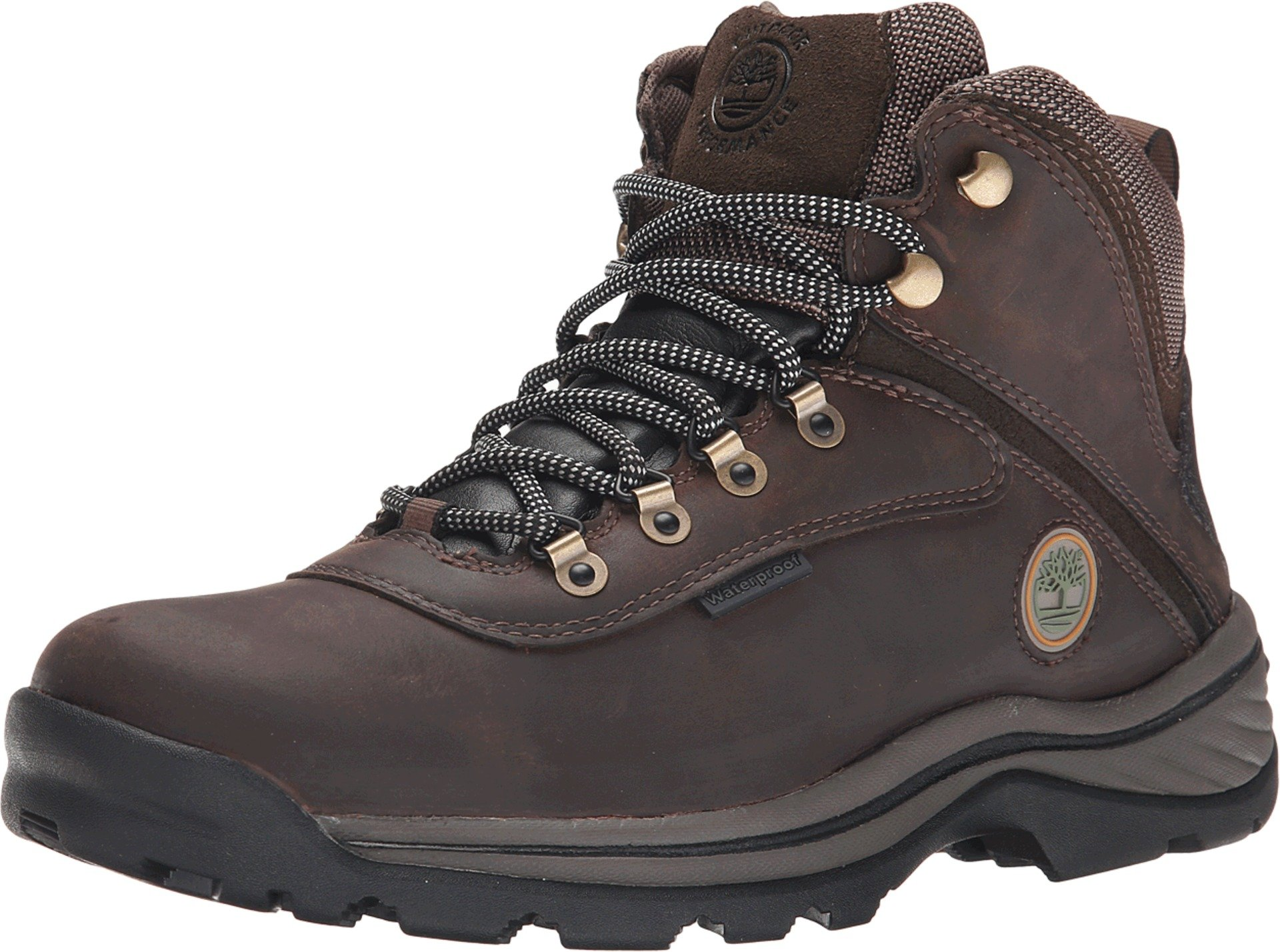 Timberland Men's White Ledge Mid Waterproof Boot,Dark Brown,9 W US
