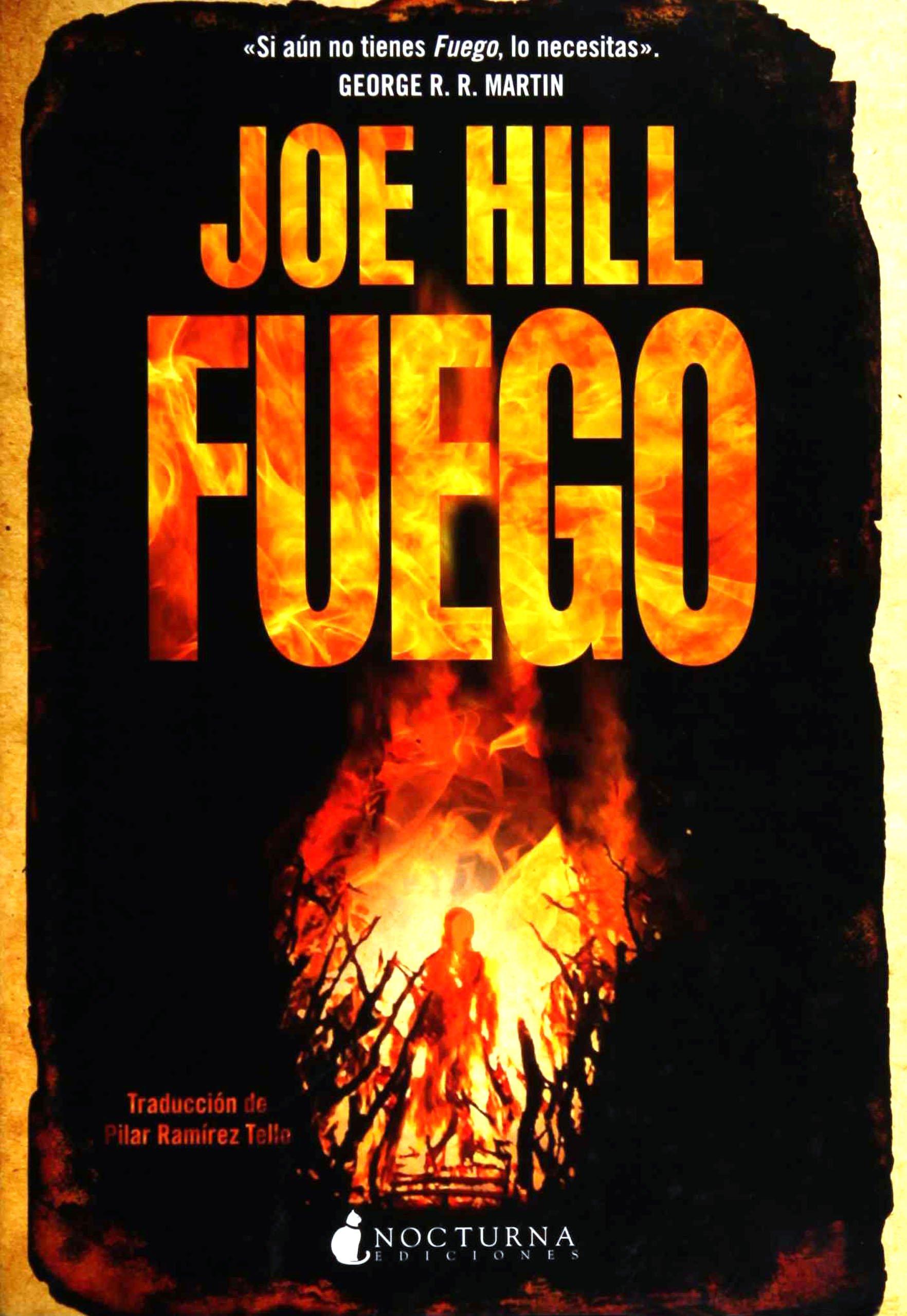 Fuego: 1 (Noches Negras): Amazon.es: Hill, Joe, Ramírez Tello ...