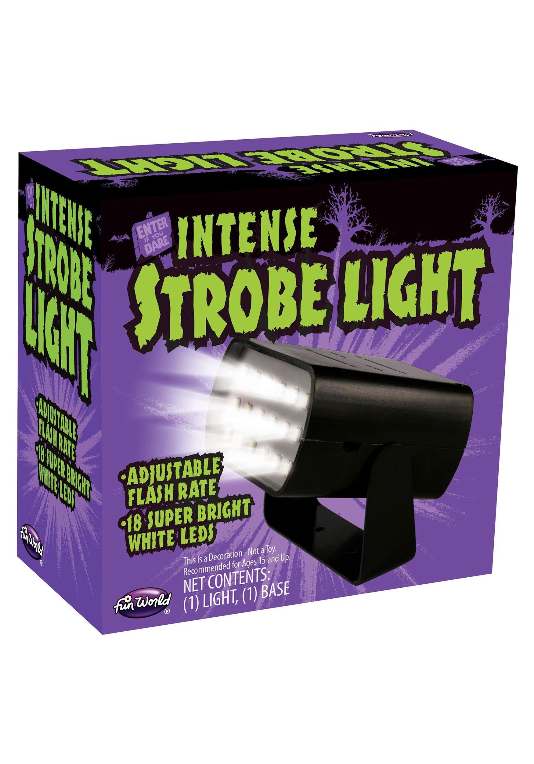 Mini Intense Adjustable 18 LED Strobe Light Box Lighting Effects Halloween by Fun World