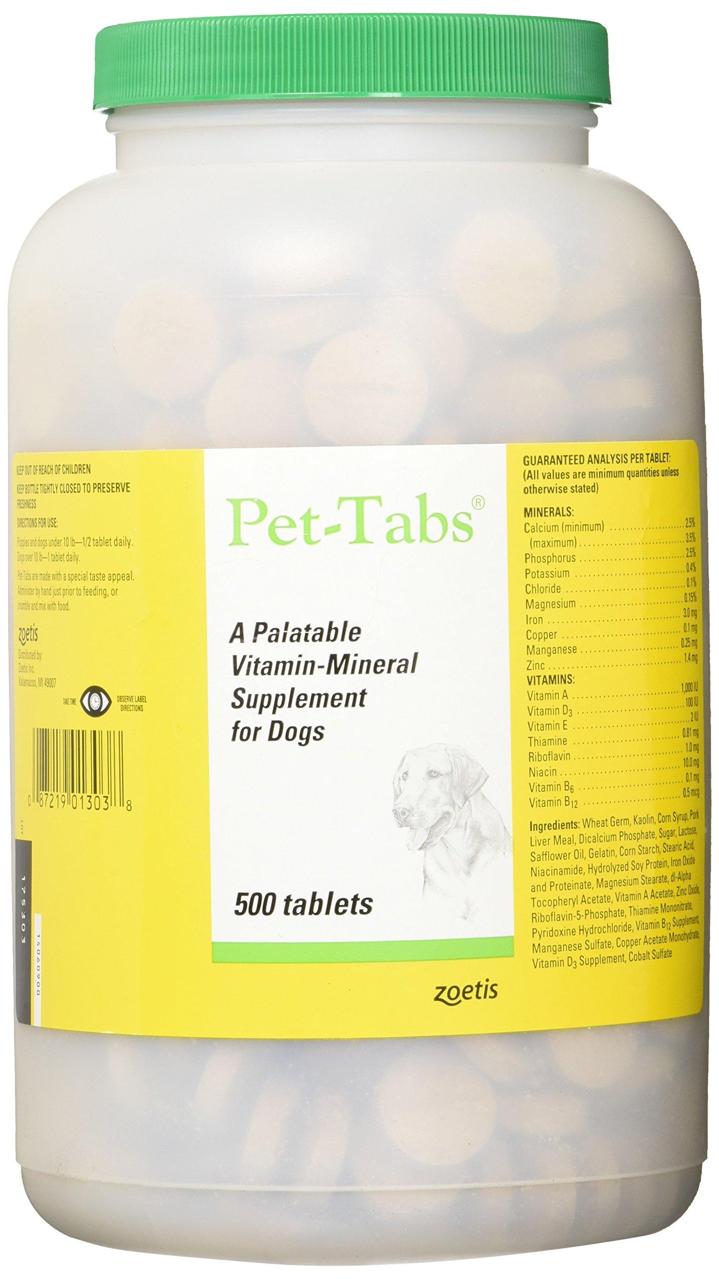 Zoetis Pet Tabs 500CT