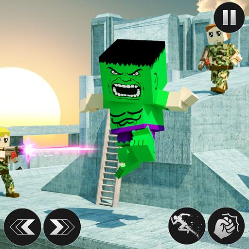 Monster Block Craft Hero: Russian Army Prison Break]()