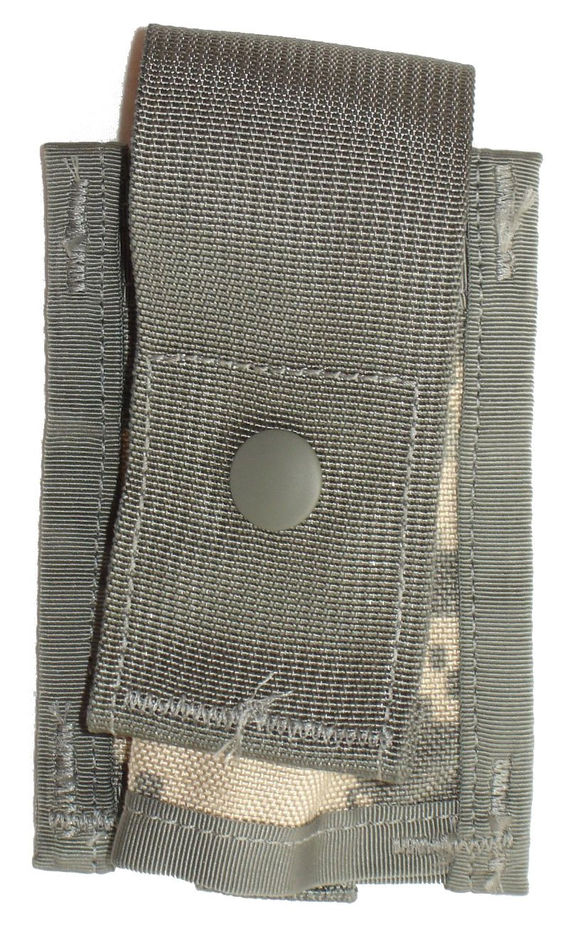 Military Outdoor Clothing Never Issued US GI ACU 40mm High Explosive Single Pouch
