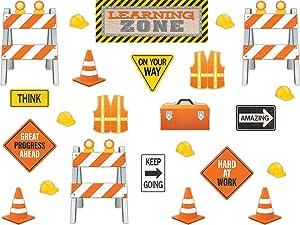 Under Construction Learning Zone Bulletin Board