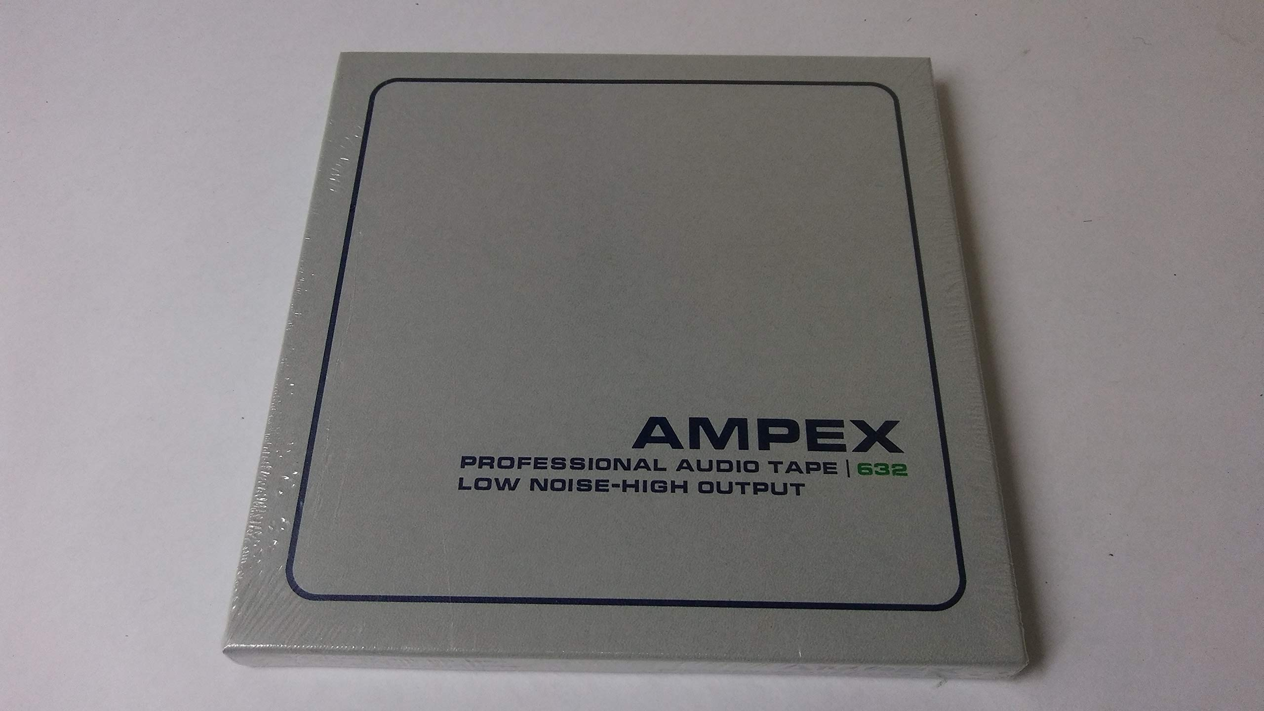 Ampex 1/4'' Professional Audio Tape Reel, 7 inch Reel, 1200 feet, 1.5 mil Polyester