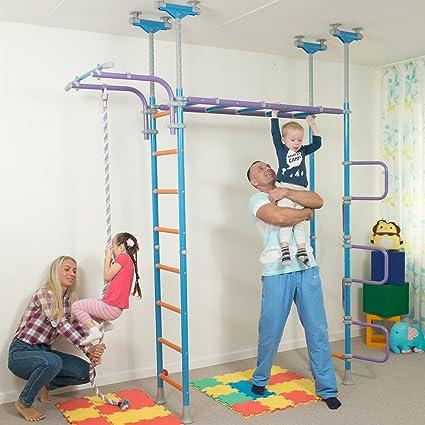 Amazon.com: Huge Kids Playground Play Set for Floor & Ceiling ...