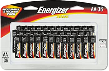 36-Pack Energizer Max Alkaline AA Battery