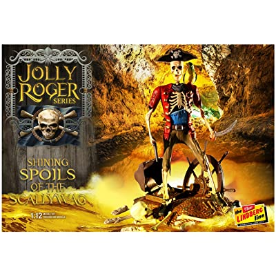 Lindberg 1/12 Jolly Roger Series Shining Spoil of Scallywag, LND614: Toys & Games