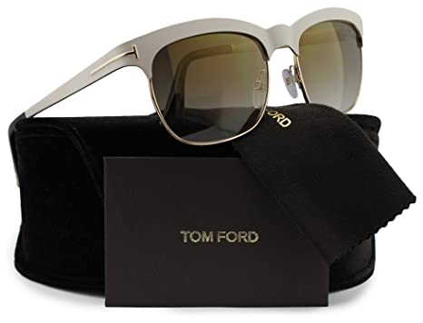 07adc73d4844 Image Unavailable. Image not available for. Color  TOM FORD FT0437 Elena  Sunglasses ...