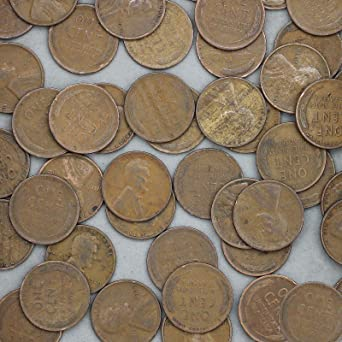 50 COINS AVERAGE CIRCULATED ROLL GREAT PRICE! OF 1913-P LINCOLN CENTS