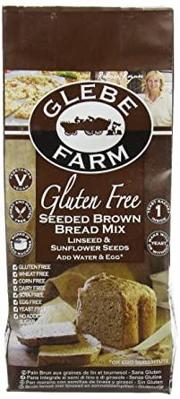 Glebe Farm Gluten Free Seeded Brown Bread Mix 375 G Pack Of 8
