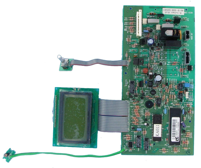 Whirlpool Microwave Control Board Part 8169526R 8169526 Model Whirlpool KHMS147HBL0