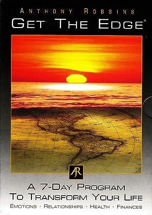 0b57f20231fe Anthony Robbins Get The Edge 7 Day Complete   Original Program ...