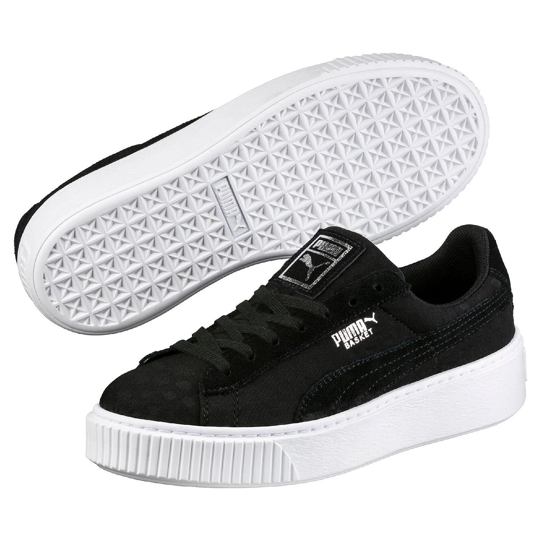 Puma Basket Platform de, Zapatillas para Mujer 40 EU|Negro (Black-black)