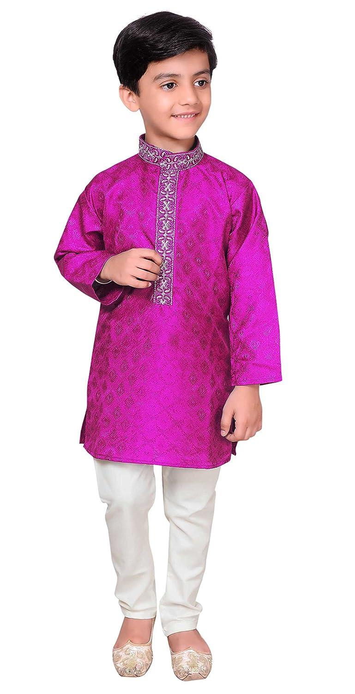 Desi Sarees Niños Sherwani Kurta Pijama Bollywood Mehendi Funciones ...