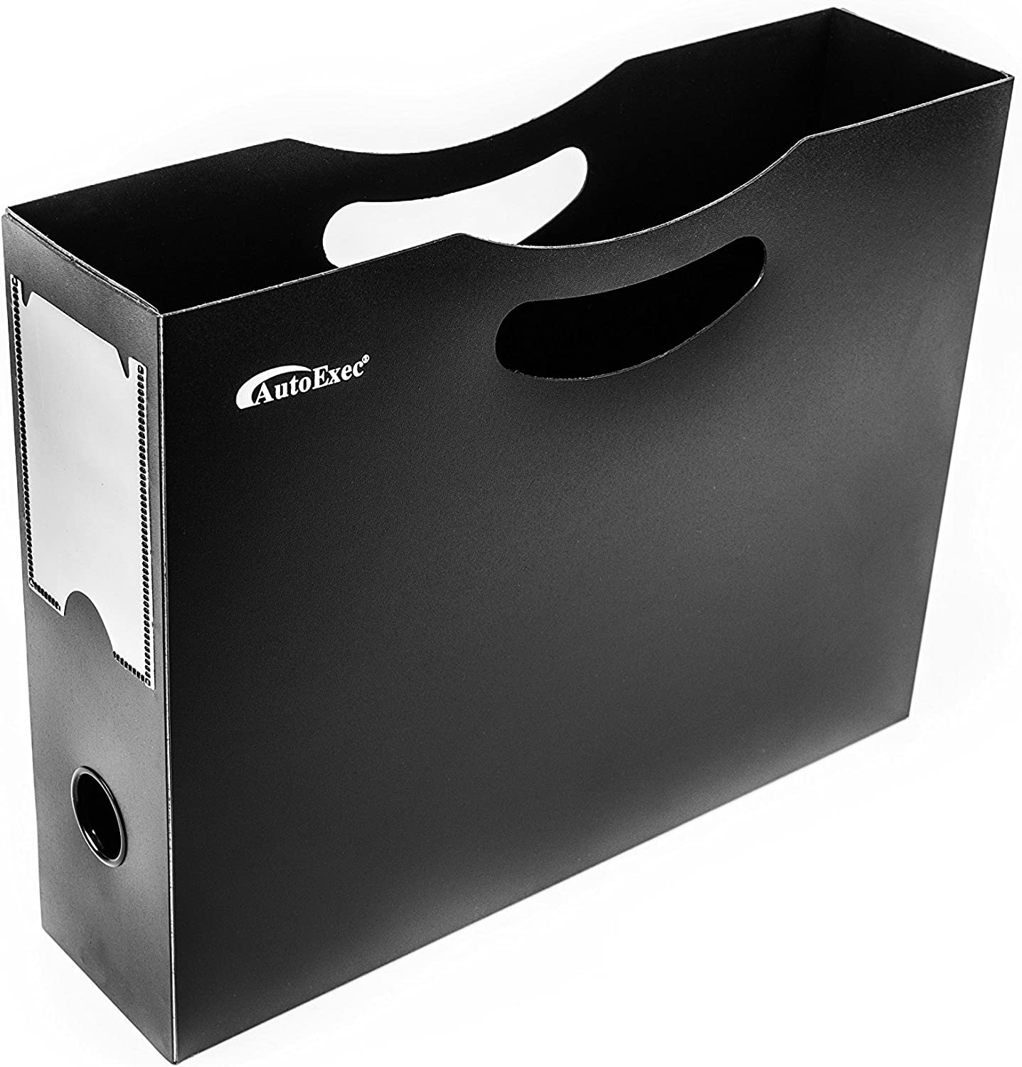 AutoExec BusinessCase-04 Black//Grey Business Case with One Hanging File Holder