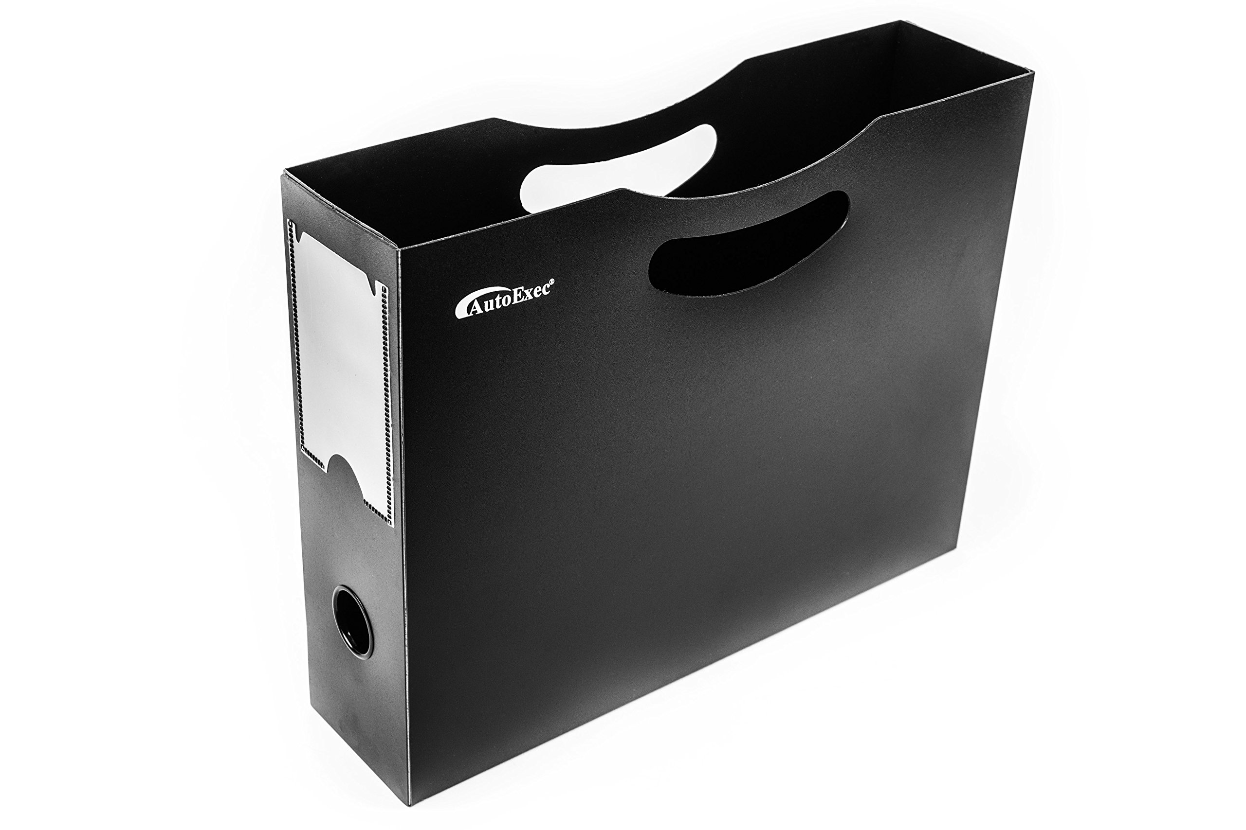 AutoExec AETote-08 Black/Grey File Tote with One Cooler and One Hanging File Holder by AutoExec (Image #21)