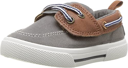 Carters Kids Cosmo Boys Boat Shoe Sneaker