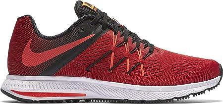 Nike Zoom Winflo 3, Zapatillas de Running para Hombre, Rojo ...