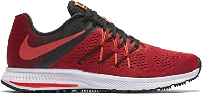 online retailer 57bd2 9e360 Nike: Nike 831561-601: Zoom Winflo 3 III Red/Black Fashion Running Sneakers  for MEN (10)