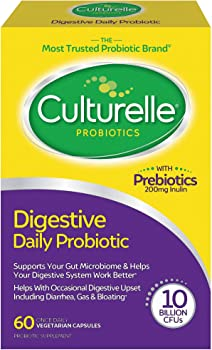 60-Count Culturelle Daily Probiotic Digestive Health Capsules